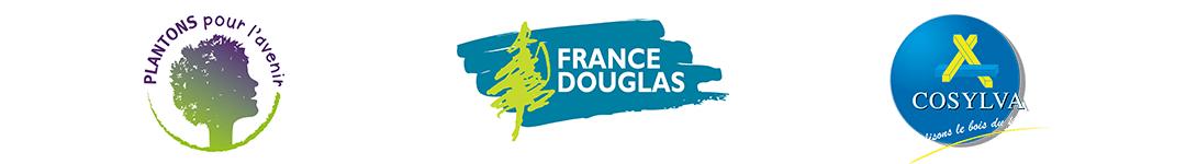 logos de plantons pour l'avenir, france douglas et cosylva